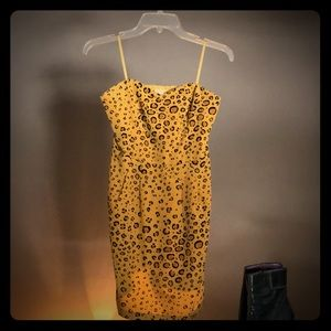 Leopard Dress COOPERATIVE by Urban Outfitters M
